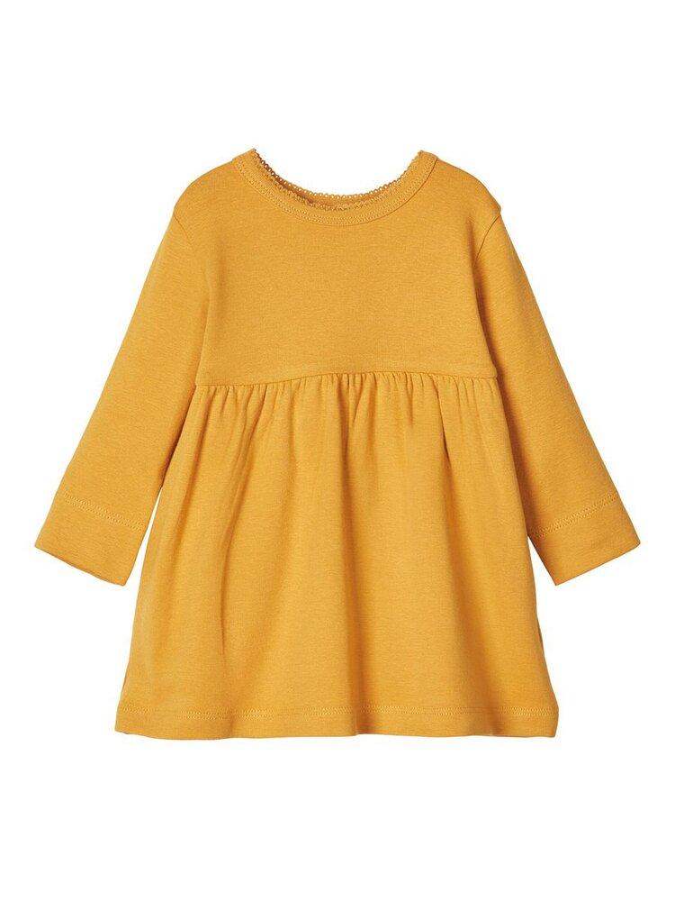 Image of Lil' Atelier Gaya langærmet kjole - NUGGET GOL (c119791a-ea6d-4bd6-a9d3-01193800cc61)